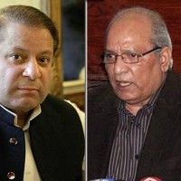 Nawaz Sharif and Mushahid Ullah