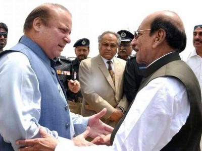 Nawaz Sharif and Qaim Ali Shah
