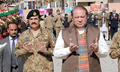 Nawaz Sharif and Raheel Sharif