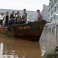 North Korea Flood