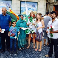 PML-N Spain,Celebrated Independence Day