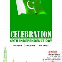 Pakistan State Times Independence Day Advertisement