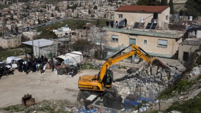Palestinian Home Down