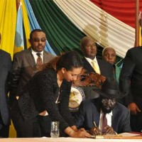 Peace Agreement Signed