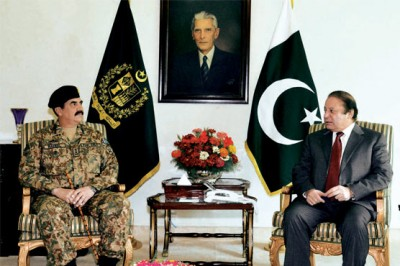 Prime Minister And  Army Chief Met