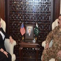Raheel Sharif US Deputy Under Secretary Meating