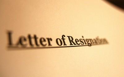 Resignations