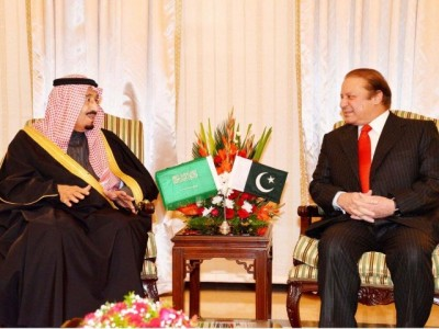 Salam bin Adbul Aziz and Nawaz Sharif