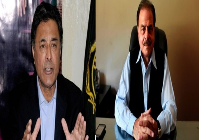 Shuja Hanzada and Hameed Gul