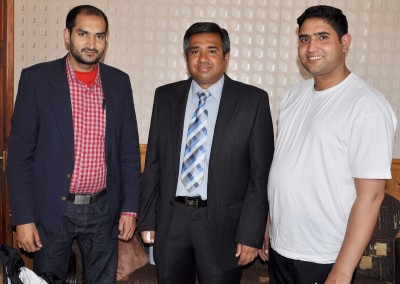 Syed Kashif Sajjad,Irfan Tahir Meeting