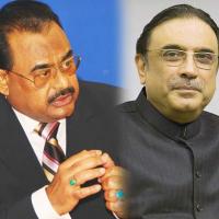 Zardari And Altaf Hussain