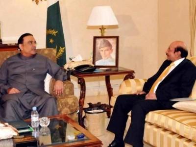 Zardari And Qaim Ali Shah
