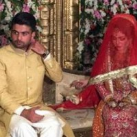 Ahmed Shahzad With Wife