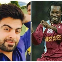 Ahmed Shehzad and Chris Gayle