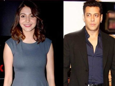 Anushka and Salman Khan