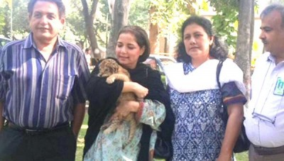 Babra Sharif Lions Adopted Child