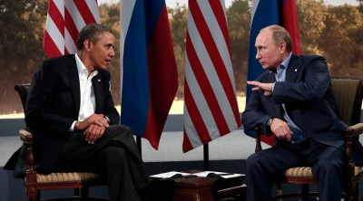 Barack Obama and Putin Met