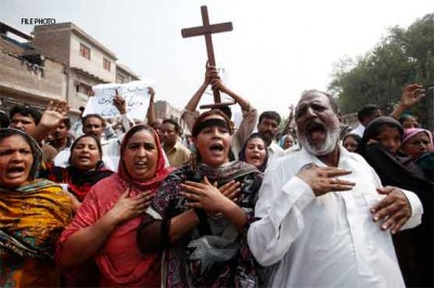 Christians Protests