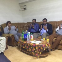 Condolences with Chohdary Afzal