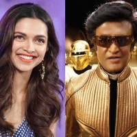 Deepika and Rajinikanth