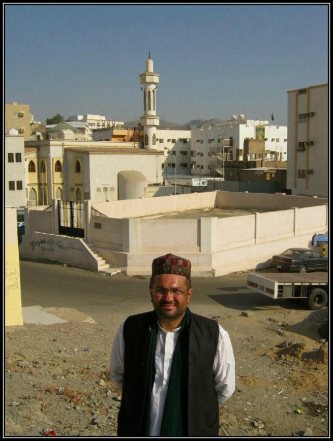 Dr Ali Abbas Shah at Fakh Valley in Makkah