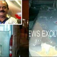 Geo News Satellite Van,Firing