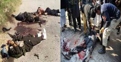 Gunmen Attack Pakistan Air Force Base