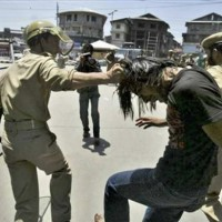 Indian Army Kashmiri Students Violence