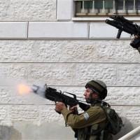 Israeli Troops Firing