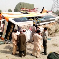 Karachi Bus Accident