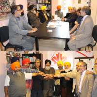 Kashmir Council EU Sikh Delegation