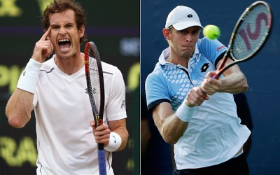 Kevin Anderson and Andy Murray