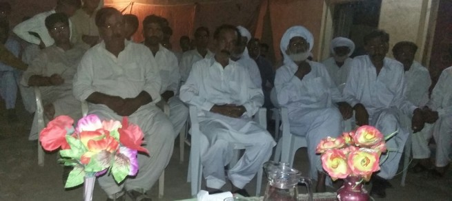 Malik Saleem Iqbal And Malik Feroz Khan Corner Meetings