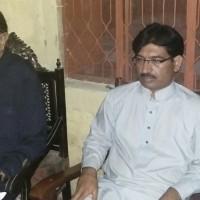 Malik Saleem Iqbal And Malik Feroz Khan Corner Meetings