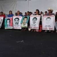 Missing Students Parents Strike