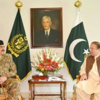 Nawaz Sharif and Raheel Sharif