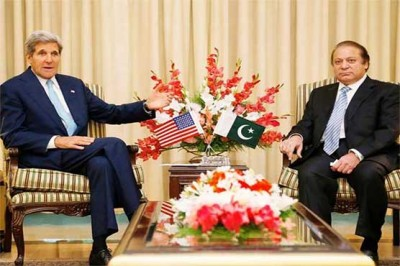 Nawaz Sharif,John Kerry Meeting