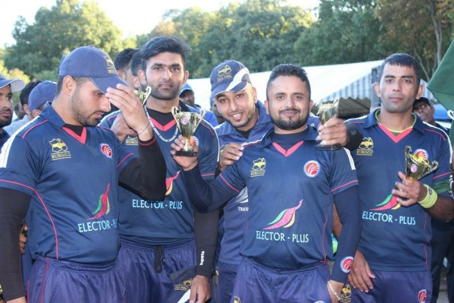 Official Cricket League win Final