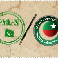 PTI and PML N