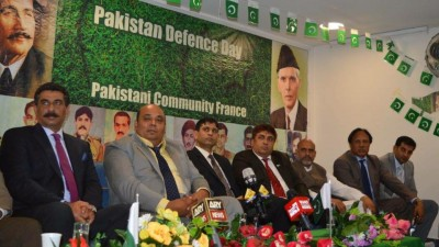 Paris Defense Day Pakistan Ceremony