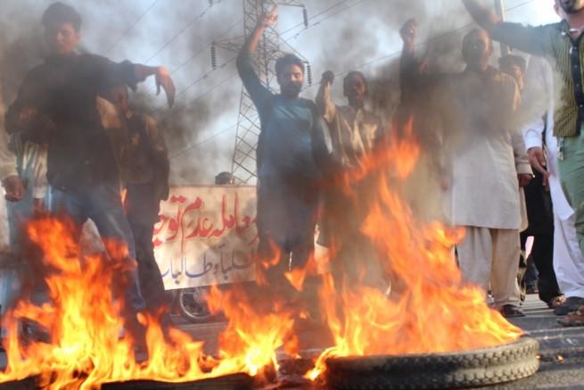 Punjab University Students Protest