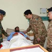 Raheel Sharif Visit CMH Peshawar