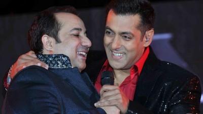 Salman Khan And Rahat Fateh Ali