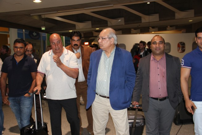 Senator Mushahid Ullah Khan Airport Welcome