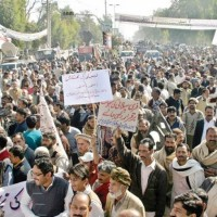 WAPDA Employees Protests