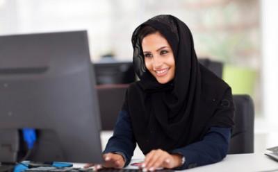 Western Women Hijab