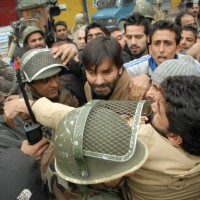 Yasin Malik Indian Forces Detained