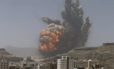 Yemen  Coalition Forces  Air Strikes
