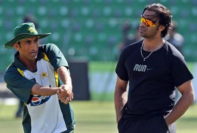 Younas Khan and Shoaib Akhter