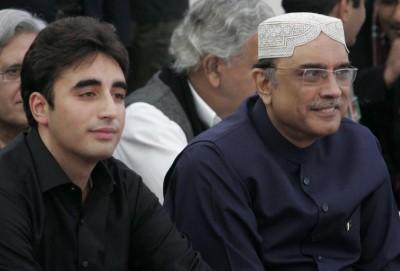 Zardari and Bilawal